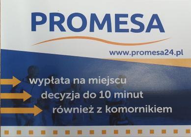 PROMESA - Kredyt gotówkowy Sosnowiec