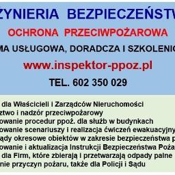 Inżynieria Bezpieczeństwa - Firma audytorska Szczecin