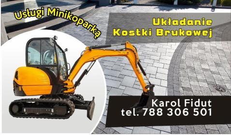 Usługi minikoparką - Fundamenty Nurzec-Stacja