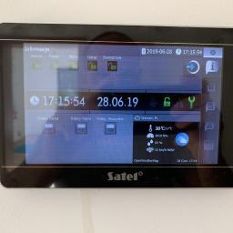 INT-TSH-BSB Manipulator z ekranem dotykowym