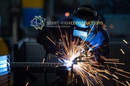 STEEL-INOX CONSTRUCTIONS - Krzysztof Kosmala - Konstrukcje Stalowe - Ogrodzenia kute Bielsko-Biała