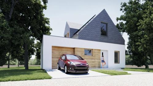 SZYMON NOWAKOWSKI NOOWA PRACOWNIA ARCHITEKTURY - Adaptacja Projektu Domu Mieścisko