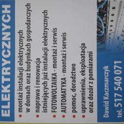 ELEKTROMONTER Dawid Kaczmarczyk - Ekologiczne Źródła Energii Irządze