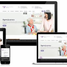 Strona internetowa - agencja pracy