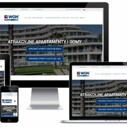 Strona internetowa - biuro nieruchomości