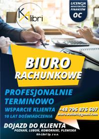 KA-LIBRI Spółka z ograniczoną odpowiedzialnością - Rozliczanie Podatku Poznań