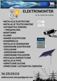 ELEKTRO-MONTER - Firma Elektryczna Nowa wieś rzeczna