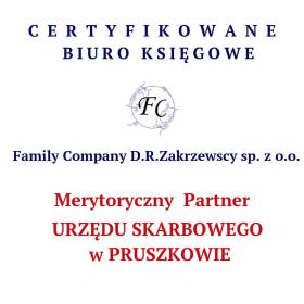 FAMILY COMPANY D.R.Zakrzewscy sp. z o.o - Prowadzenie Księgowości Nadarzyn