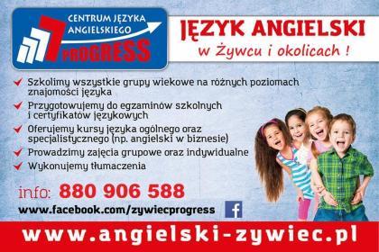 Centrum Języka Angielskiego PROGRESS - Szkoła językowa Żywiec