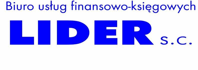 BIURO RACHUNKOWE LIDER SC - Biuro rachunkowe Nowy Sącz