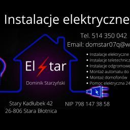 instalacje elektryczne ElStar - Oświetlenie Elewacji Stary kadłubek