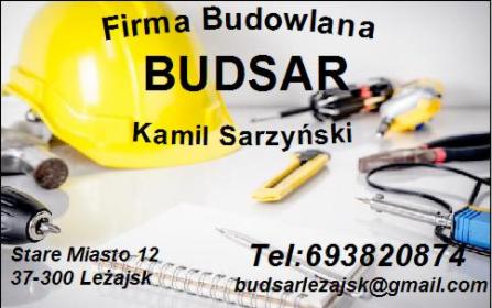 BUDSAR - Mycie dachów Leżajsk