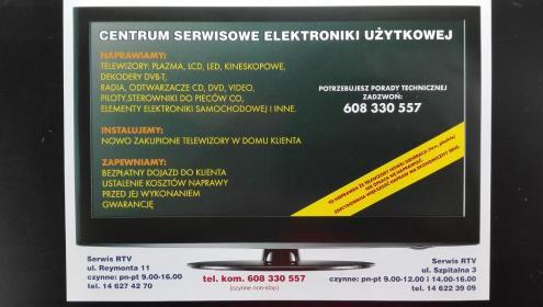 RTV-SAT-VIDEO-SERWIS - Naprawa RTV Tarnów