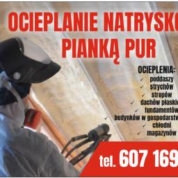 INSTAL-SERWIS - Ocieplenie Poddasza Pianką Poliuretanową Wierbka