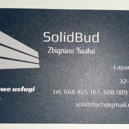 SolidBud - Układanie Glazury Trzciana