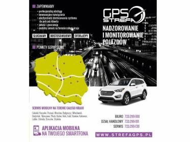STREFA GPS - Monitoring pojazdów GPS Wartkowice