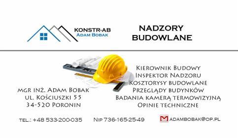 KONSTR-AB - Nadzór budowlany Poronin