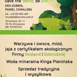 Eko-dubrol Paweł chwaleba Save the World be Eco - Nowoczesne Kuchnie Dygowo