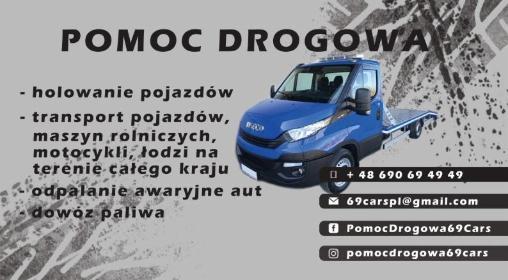 69 Cars Mateusz Arendt - Transport międzynarodowy do 3,5t Warszawa