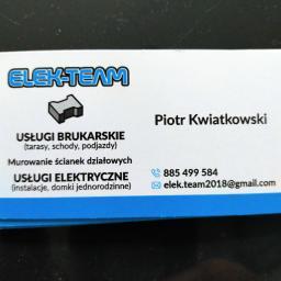 Elek-team - Firma Brukarska Zalesie Górne