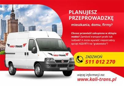 KALI-TRANS - Przeprowadzki Sokołów Podlaski