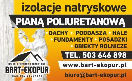 BART-EKOPUR - Remont Elewacji Bobowo