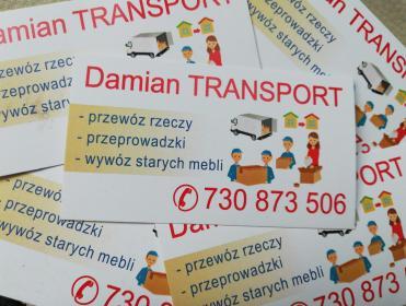 Damian Transport - Przeprowadzki Grudziądz