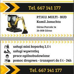 P.T.H.U. MULTI-BUD - Montaż Płyty Warstwowej Górno