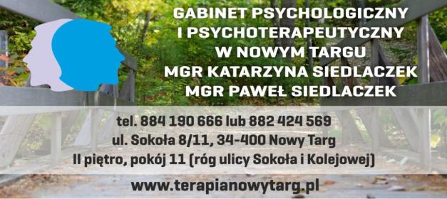 Gabinet psychologiczny i psychoterapeutyczny Nowy Targ - Terapia uzależnień Nowy Targ