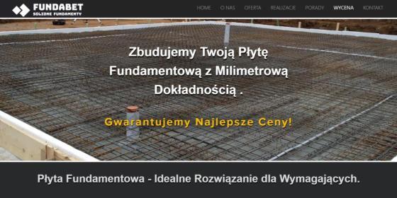 Fundabet Sp. z o.o. - Schody betonowe Chojna
