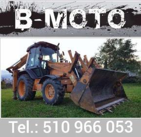 B-Moto Hubert Barszczewski - Kopanie Fundamentów Blizne jasińskiego