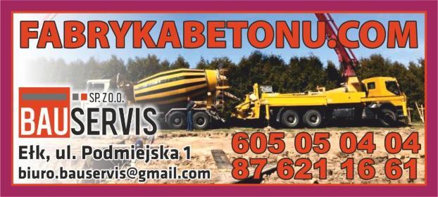 Bauservis Sp. z o.o. - Sprzedaż Piasku Ełk