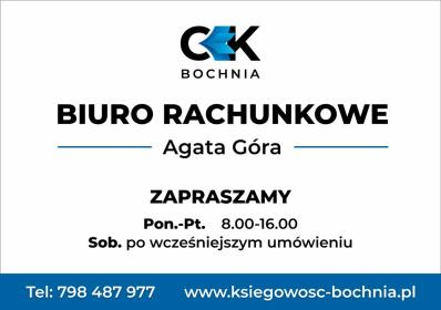 Centrum Księgowe Bochnia Agata Góra - Biuro rachunkowe Bochnia