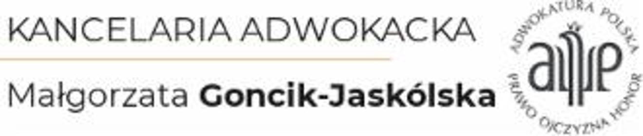 Kancelaria Adwokacka Adwokat Małgorzata Goncik-Jaskólska - Adwokat Wrocław