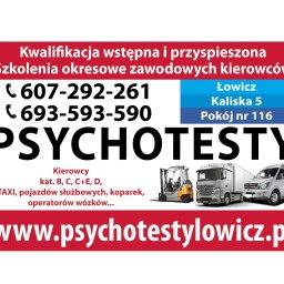 Reflex Psychotesty Łowicz - Psycholog Łowicz