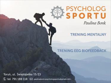 Psycholog Sportu - Paulina Bonk - Szkolenia interpersonalne Toruń