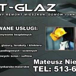 Mateusz Nieścieruk Mat-Glaz - Glazurnik Białystok