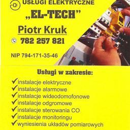 Usługi Elektryczne EL-TECH Piotr Kruk - Elektryk Przeworsk