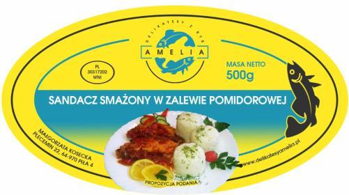 Delikatesy z Ryb AMELJA - Przetwórstwo spożywcze Piła