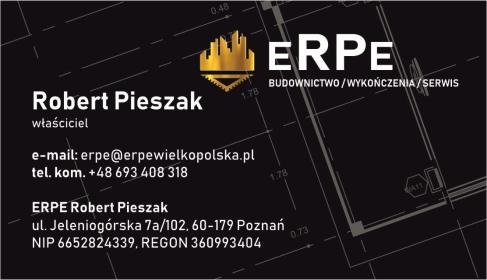 ERPE Robert Pieszak - Firma remontowa Poznań