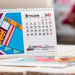 Kalendarze biurkowe na spirali | fotokalendarze