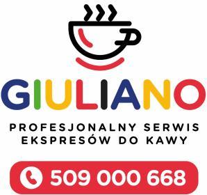 Naprawa - Serwis - Ekspresów do Kawy GIULIANO w Płocku - Sprzątanie Płock