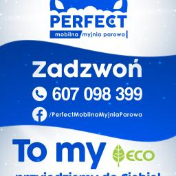 Perfect mobilna myjnia parowa - Mycie elewacji Żnin