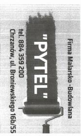 firma malarsko budowlana 'PYTEL' - Lakiernia Proszkowa Chrzanów