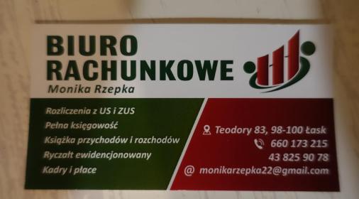 Biuro Rachunkowe Monika Rzepka - Firma audytorska Łask
