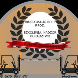 Biuro Usług BHP - Obsługa Wózka Widłowego Szczecin