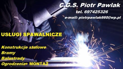 C.G.S. Piotr Pawlak - Montaż Ogrodzenia Ostrowite