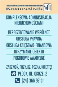 """Spółdzielnia Mieszkaniowa Lokatorsko-Własnościowa """"Komunalnik"""" w Płocku - Agencja Nieruchomości Płock"""