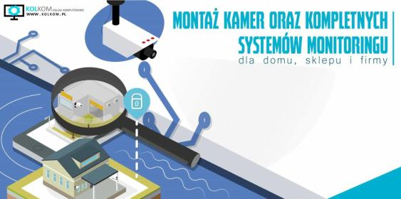 KolKom Usługi Komputerowe Barotsz Kołek - Monitoring Szczytna