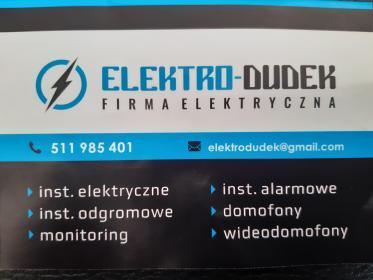 Elektro-Dudek - Domofony, wideofony Żmiąca